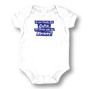 "Attitude Rompers ""See My Mommy"" Baby Romper"