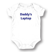"Attitude Rompers ""Daddy's Laptop"" Baby Romper"