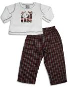 Mis Tee V-Us - Infant Boys Long Sleeve Plaid Pant Set
