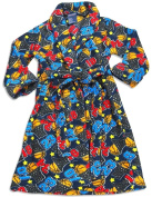 MacHenry Originals - Toddler Boys Microfiber Basketball Print Robe