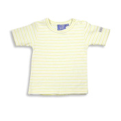Mak the Yak - Newborn Boys Striped Short Sleeve Top