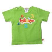 Zutano Baby-boys Infant Short Sleeve Race Car Screen T-Shirt