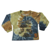 Whatever Kids Wanna Wear - Infant Boys Long Sleeve Tie Dye Top