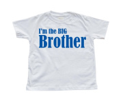 Boy's I'm the Big Brother White Toddler T-Shirt