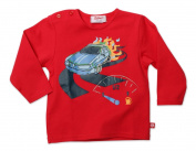 Zutano Baby-boys Infant Moto Screen Long/Sleeve Tshirt