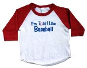 I'm Told I Like Baseball Shirt