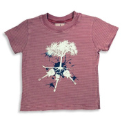 Silver Pony - Infant Boys Short Sleeve Striped Tee