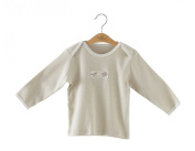 New Arrival!Naturecolored baby T-shirt with 100% Organic/naturally coloured cotton