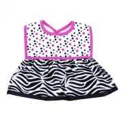Trend Lab Dress Up Bib, Zahara Zebra