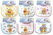 Disney Baby Winnie the Pooh Bib - Girl Varied Prints - One Bib