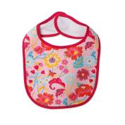 Zutano Baby-Girls Newborn Secret Garden Bib