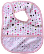 Caden Lane Classic Collection Dot Line Coated Bib