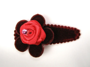 Rose Garden - Baby Girl & Toddler Hair Clip - Many Beautiful Colours Available