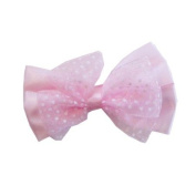Pink Butterfly Bow Clip, Beautiful Gifts for Girls