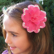 Celeste Silk Flower Hair Clip