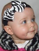 Zebra Print Baby Headband