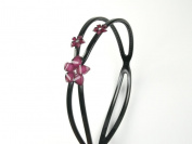 Crystal Blossom Headband - Great for Black Hair Baby Girl & Toddler - Many colour options