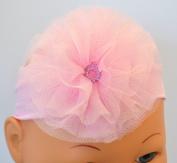 Destinie Tulle Flower Baby Headband