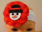 Felt Snowman Cotton Christmas Headband