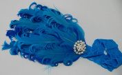 Lace and Feather Headband for Girls (Ages