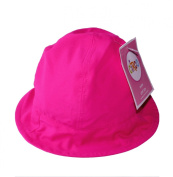 Circo Infant/Toddler Sun Hat With Chin Strap / Hot Pink