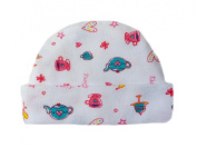 Tea Time Capped Baby Hat