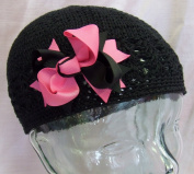 Piper Bow Children's Crochet Hat