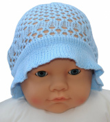 Infant Crochet Sun Hat, Size 6-18 M., Colour