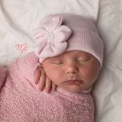 Melondipity Baby Pink Sparkles Newborn Girl Hospital Hat