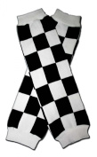 "RACE CAR CHECKER FLAG - Baby Leggings/Leggies/Leg Warmers for Cloth Nappies - Little Girls & Boys & ONE SIZE by ""BubuBibi"""