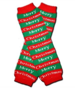 """MERRY CHRISTMAS - Baby Leggings/Leggies/Leg Warmers for Cloth Nappies - Little Girls & Boys & ONE SIZE by """"BubuBibi"""""""