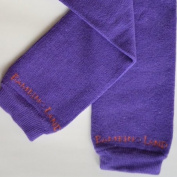 Bambino Land - Purple Organic Cotton Baby Leg Warmers