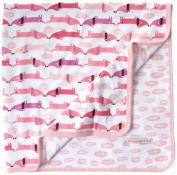 Magnificent Baby-Girls Newborn Reversible Blanket