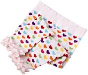 Jefferies Socks Baby-Girls Newborn Pima Cotton Heart Rhumba Footless Tights