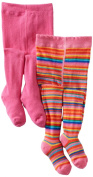 Country Kids Baby-girls Infant Jelly Bean Stripe 2 Pair Tights