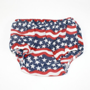 Unisex Cotton Stars and Stripes Bloomer
