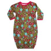 Zutano Baby-Girls Infant Sugar Bramble Gown