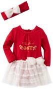Vitamins Baby-Girls Newborn 2 Piece Dress Set Bundle Of Joy