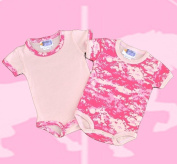 Infant 2 pack Pink Camo Bodysuits Baby