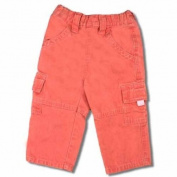 Baby & Toddler Girls Pink Denim Cargo Pants
