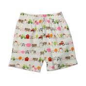 Zutano Baby-Girls Infant Little Farm Organic Shorts