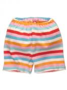 Baby / Infant Girls Bold Stripe Pink Shorts by Zutano