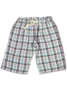 Dinky Souvenir - Infant Girls Plaid Bermuda Short