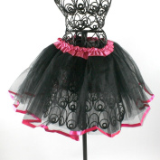 Two Tone Ribbon Lined Dance Tutu