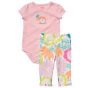 Carter's Bay Girls Cute and Comfy Combo 2pc Set - Mommy Loves Me-nb
