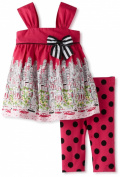 Bonnie Baby Baby-Girls Infant City Print Legging Set