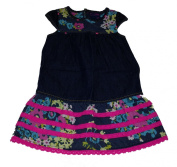 Genuine Kids Made By Oshkosh Toddler Girls Flowered Berlin Wash Dress