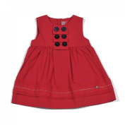 "Petit Lem ""Pretty By the Sea"" Dress, 6 Months - 3, Red"