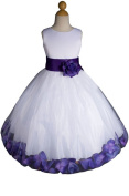 AMJ Dresses Inc Baby-girls S to Xl Flower Girl Party Dress
