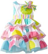 Mud Pie Baby-Girls Newborn I'm 1 Birthday Dress
